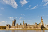 Houses of Parliament at London, England — Stok fotoğraf
