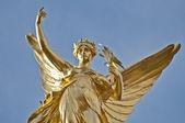 мемориал королевы виктории в лондоне, англия — Стоковое фото