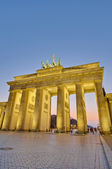 The Brandenburger Tor at Berlin, Germany — Stock Photo