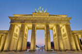The Brandenburger Tor at Berlin, Germany — Foto de Stock