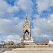 Albert Memorial at London, England — Stockfoto