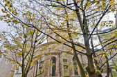 Temple Church at london, England — Stock Photo