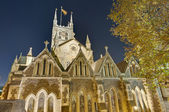 Southwark Cathedral at London, England — Stock Photo