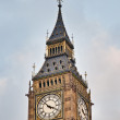 Big Ben tower clock at London, England — Stockfoto