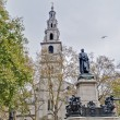 Saint Clement Danes church at London, England — Stock Photo