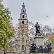 Stock Photo: Saint Clement Danes church at London, England