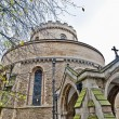 Temple Church at london, England — 图库照片