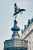 Piccadilly Circus at London, England — Stock Photo