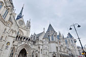 Royal Courts of Justice at London, England — Foto Stock