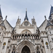 Royal Courts of Justice at London, England — 图库照片