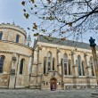Temple Church at london, England — Stockfoto