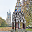 Victoria Tower Gardens at London, England — 图库照片