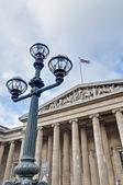 British Museum at London, England — Stockfoto