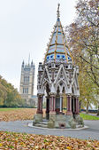 Victoria Tower Gardens at London, England — Stock Photo