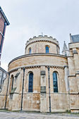 Temple Church at london, England — Stock Photo