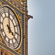 Big Ben tower clock at London, England — Foto Stock