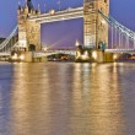Tower Bridge at London, England — Stock Photo