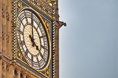 Turmuhr von big ben in london, england — Stockfoto