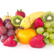 Stock Photo: Fresh various fruits