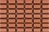 暗い茶色のチョコレート ・ バーのテクスチャ — ストック写真