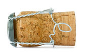 Cork from champagne — Stock Photo