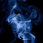 Blue abstract smoke — Stock Photo #9395928