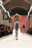 Ukrainian Fashion Week, KIEV, UKRAINE - OCTOBER 16 — Stock Photo