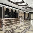 Stock Photo: Modern lobby for hotel