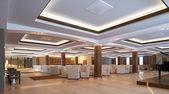 Modern lobby for hotel — Stock Photo