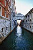 Typical Scene of Venice City in Italy. — Stock Photo