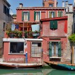 Typical scenes around Venice City in Italy — Stock Photo