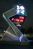 Count down to the London Olympics 2012 — Stock Photo