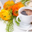 Elegant fresh breakfast — Stock Photo #10199299