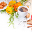 Elegant fresh breakfast — Stock Photo #10199302