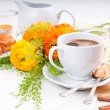 Elegant fresh breakfast — Stock Photo #10199305