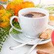 Elegant fresh breakfast — Stock Photo #10199309