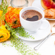 Elegant fresh breakfast — Stock Photo #10199312