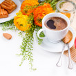 Elegant fresh breakfast — Stock Photo #10199506