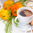 Elegant fresh breakfast — Stock Photo #10199512