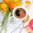 Elegant fresh breakfast — Stock Photo #10199514