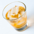 Cold drink with ice — Stock Photo