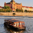 Vltava river in Prague — Stock Photo #8623522