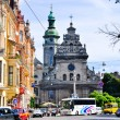 City of Lviv in Ukraine — Stock Photo
