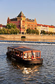Vltava river in Prague — Stock fotografie