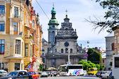 City of Lviv in Ukraine — Stock Photo
