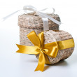Two wicker boxes — Stockfoto #9754516