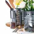 Stockfoto: Kitchen objects, cookware