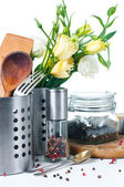 Kitchen objects, cookware — Stock Photo