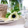 Holiday table setting — Stock fotografie #9855126
