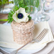 Holiday table setting - Stockfoto